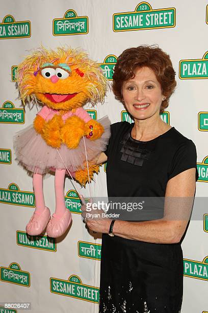 Puppeteer of Zoe Fran Brill attends the 7th annual gala benefiting Sesame Workshop at Cipriani 42nd Street on May 27 2009 in New York City