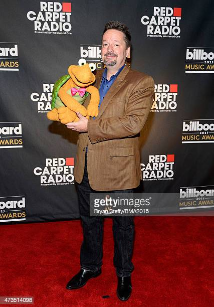 Puppeteer Terry Fator at Radio Row during the 2015 Billboard Music Awards at MGM Grand Garden Arena on May 15 2015 in Las Vegas Nevada