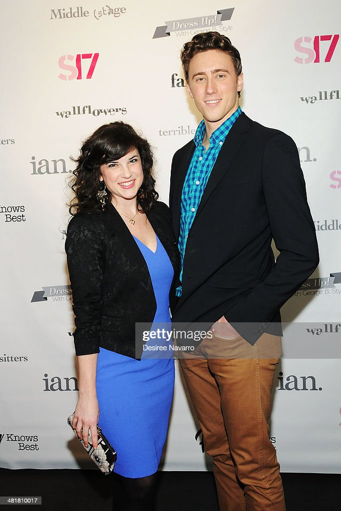 Puppeteers/actors Veronica Kuehn and Darren Bluestone attend the Stage17 Premiere at Walter Reade Theater on March 31, 2014 in New York City.