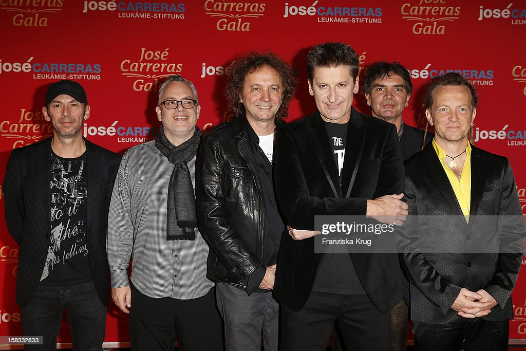 Pur attend the 18th Annual Jose Carreras Gala on December 13, 2012 in Leipzig, Germany.