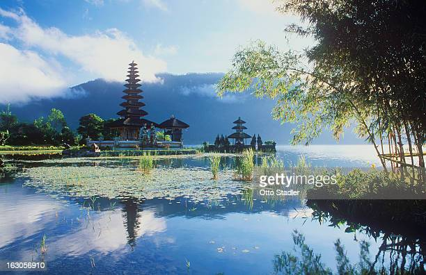 Pura Ulun Danu temple at Lake Bratan