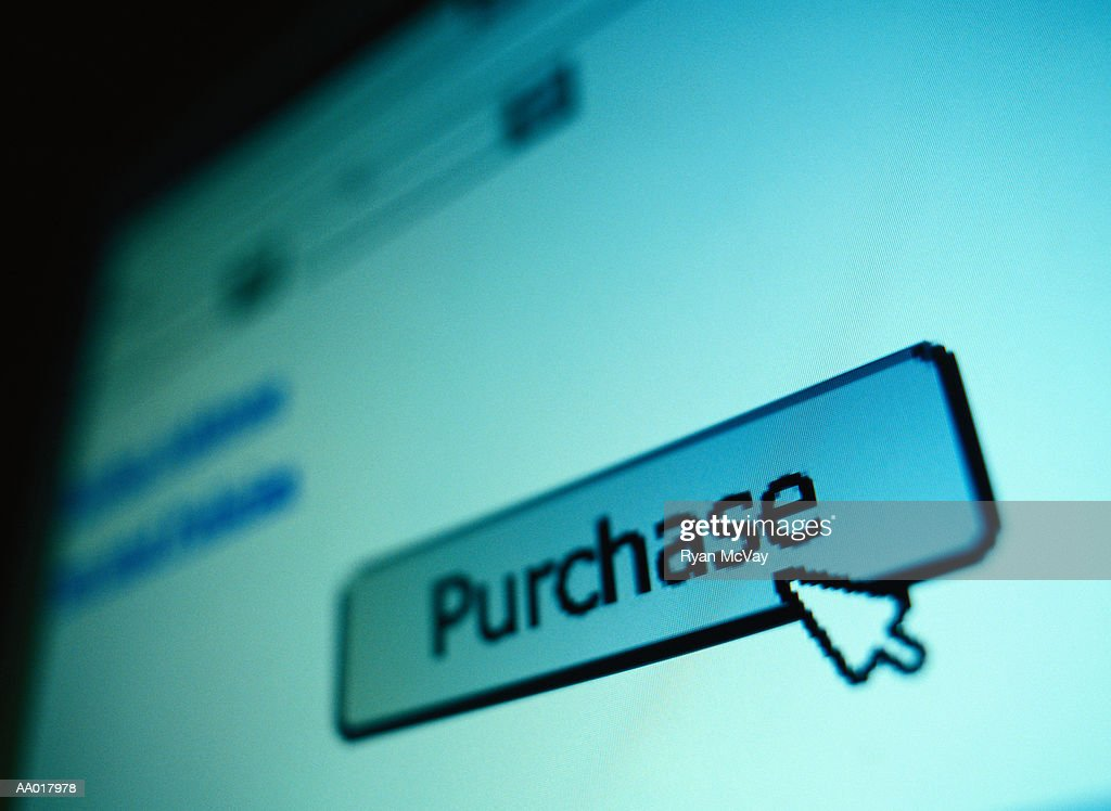 Purchase Button : Stock Photo