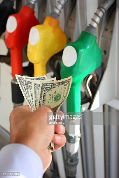 Kauf von Benzin