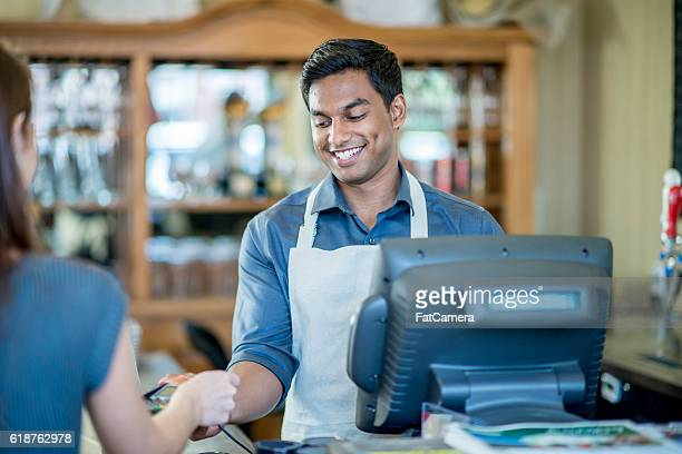 Purchasing Lunch at a Local Cafe