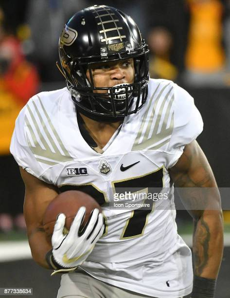 Purdue running back Brian LankfordJones during a Big Ten Conference football game between the Purdue Boilermakers and the University of Iowa Hawkeyes...