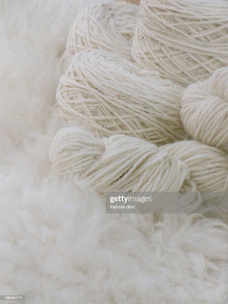 Pure natural wool