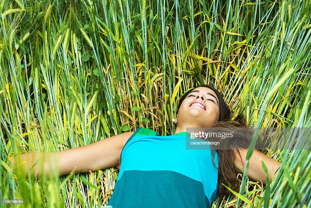 Pure relax in nature stock photo getty images