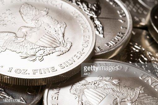 Argento puro in filo di monete