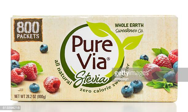 Pure Via Stevia box
