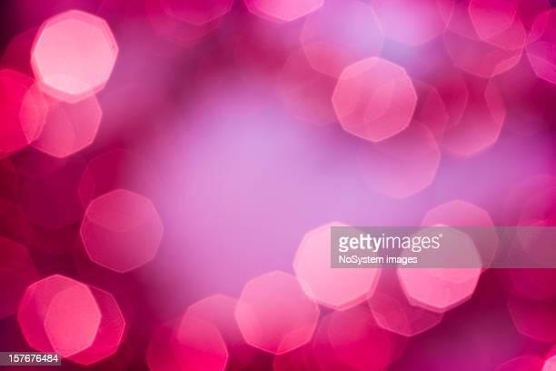 Purple Bokeh of Lights