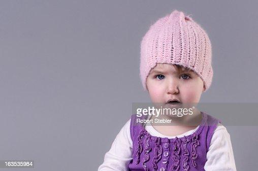 Purple Cuteness : Stock Photo