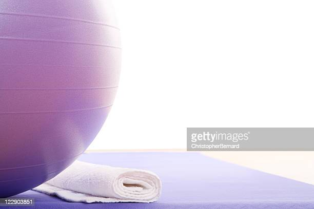 Purple Fitness Ball