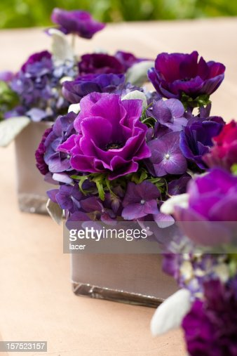 Purple Flower Decor
