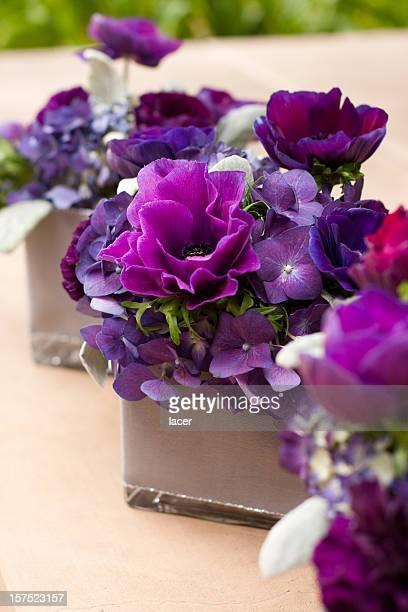 Lila Flower Dekor