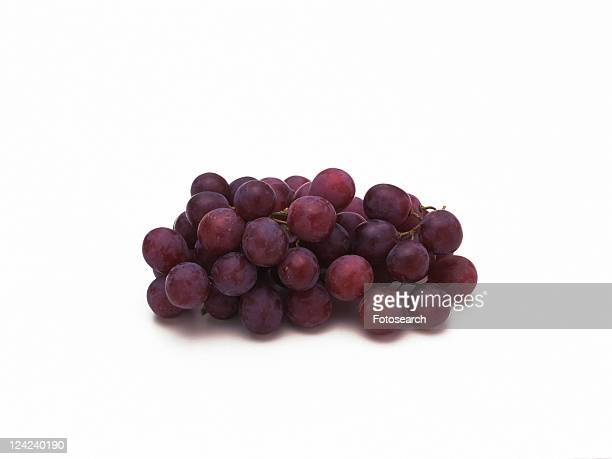 Purple Grapes, high angel view