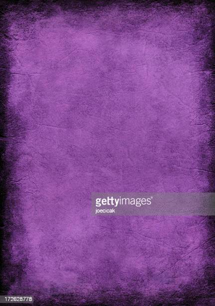 Purple Grunge Background Painted Paper
