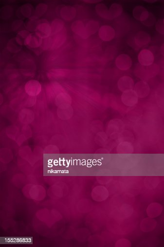 Purple grunge background with hearts