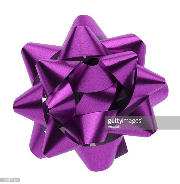 Purple christmas decorations stock photos and pictures