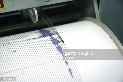 Purple Seismograph