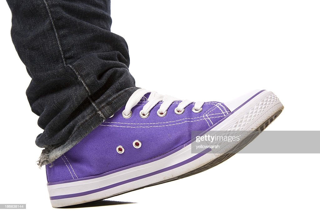 Purple Shoe Stepping