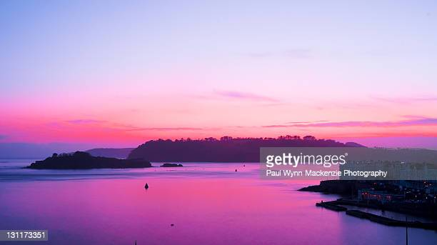 Purple ssky sunset