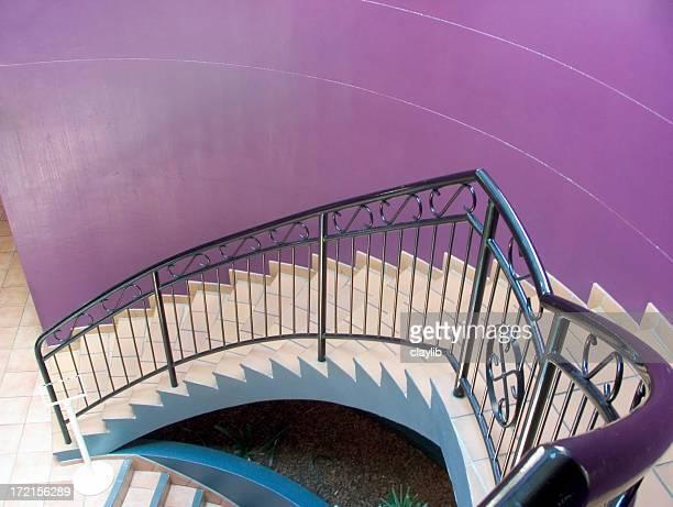 purple Treppe