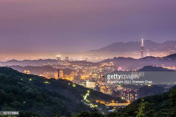 Purple Tone Taipei 101