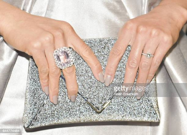 Purse detail actress DawnLyen Gardner attends the Essence 10th Annual Black Women in Hollywood Awards Gala at the Beverly Wilshire Four Seasons Hotel...