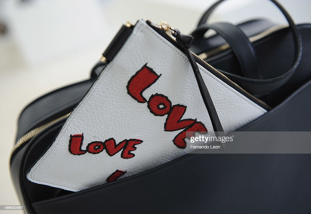 A purse pictured during the Newbark presentation during Mercedes-Benz Fashion Week Fall 2014 on February 12, 2014 in New York City.