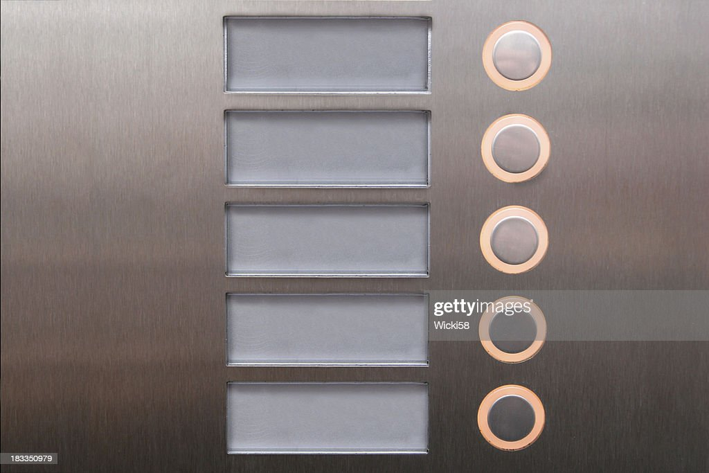 Push Buttons : Stock Photo
