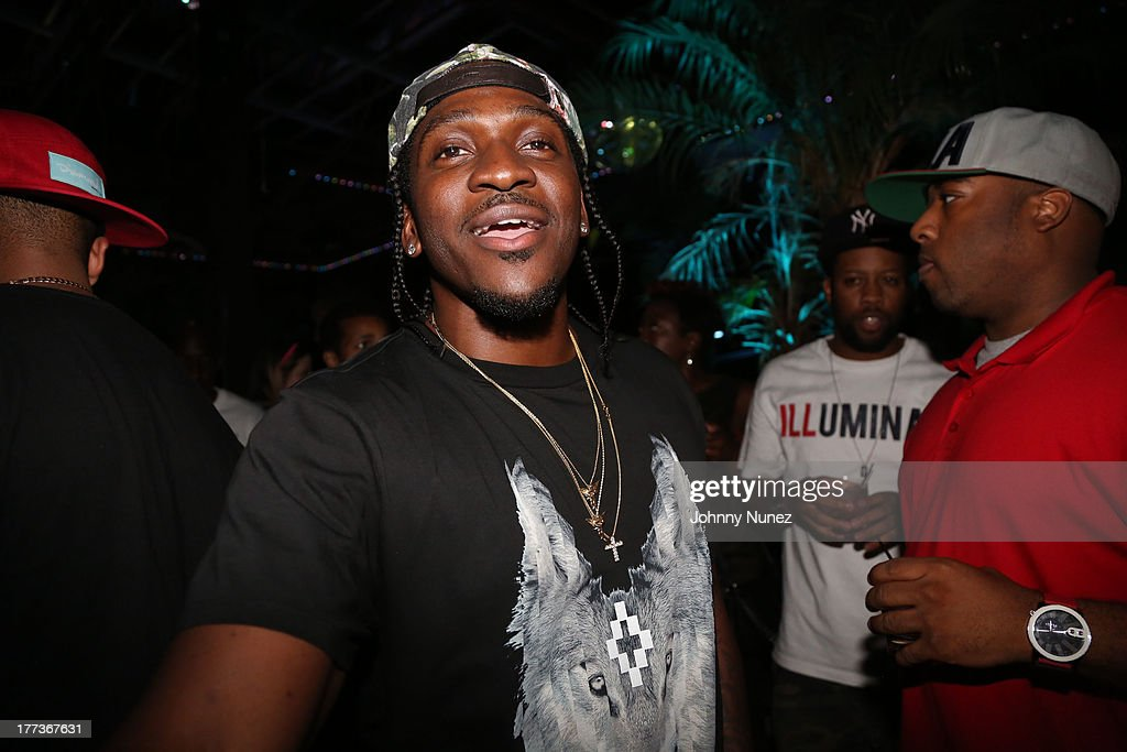 <a gi-track='captionPersonalityLinkClicked' href=/galleries/search?phrase=Pusha+T&family=editorial&specificpeople=3994271 ng-click='$event.stopPropagation()'>Pusha T</a> attends 2 Chainz Album Listening Event at DL on August 22, 2013 in New York City.