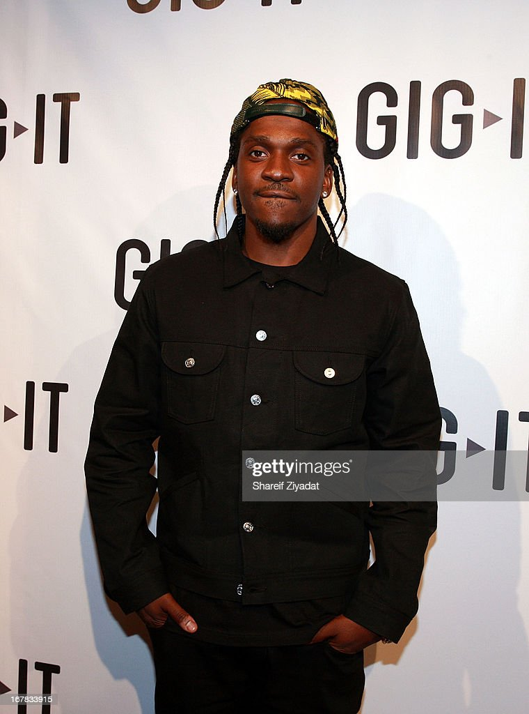 <a gi-track='captionPersonalityLinkClicked' href=/galleries/search?phrase=Pusha+T&family=editorial&specificpeople=3994271 ng-click='$event.stopPropagation()'>Pusha T</a> attends the Gig-It Launch Party at Capitale Bowery on April 30, 2013 in New York City.