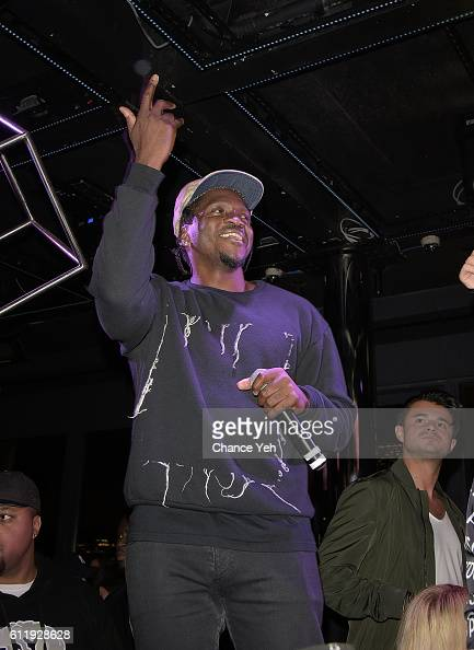 Pusha T performs during Sunset Saturdays 5 year anniversary celebration at PHD at the Dream Hotel Downtown on October 1 2016 in New York City