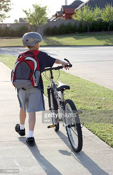 Empurrar de Bicicleta