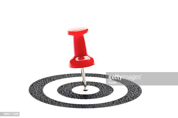 Pushpin and target