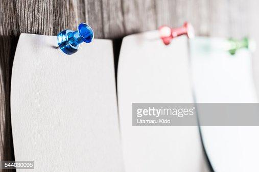 Pushpin. : Stock Photo