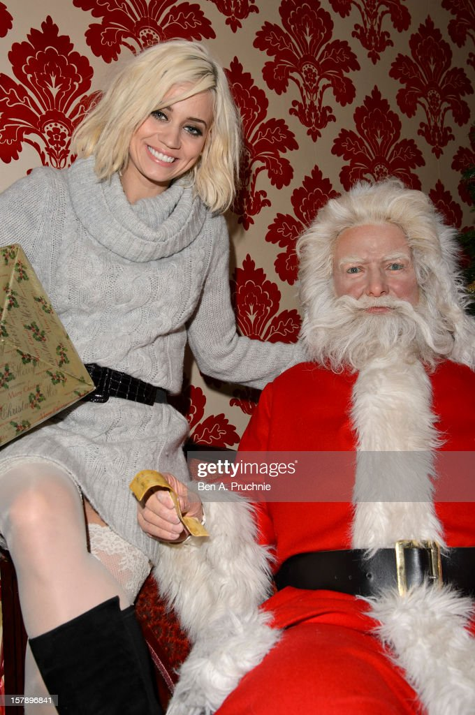 Pussycat Doll Kimberly Wyatt meets fans at Madame Tussauds on December 7, 2012 in London, England.