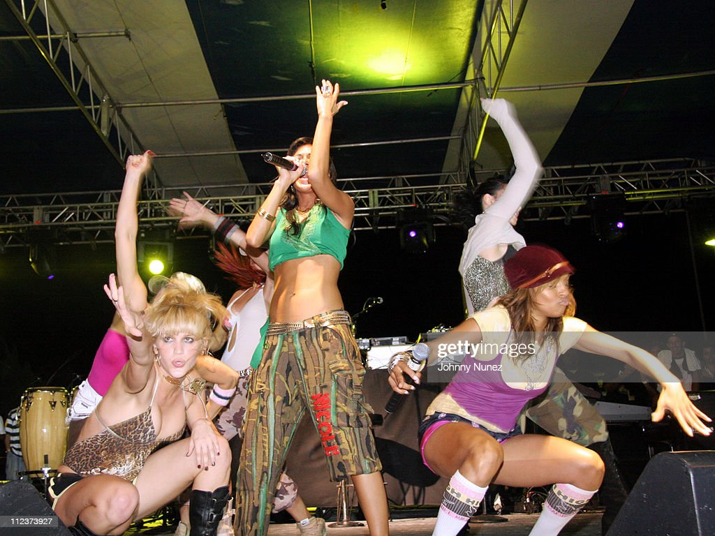 Pussycat Dolls during Power Summit Present Interscope Party at Tranquility in Freeport, Bahamas.