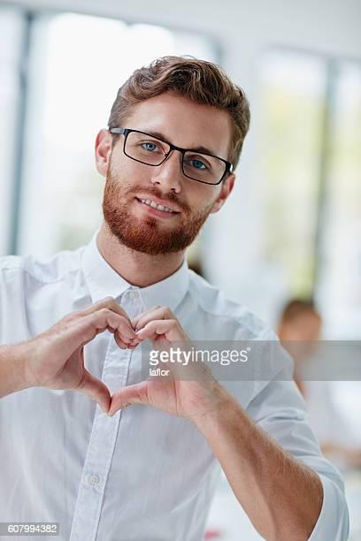 I put my heart in my work