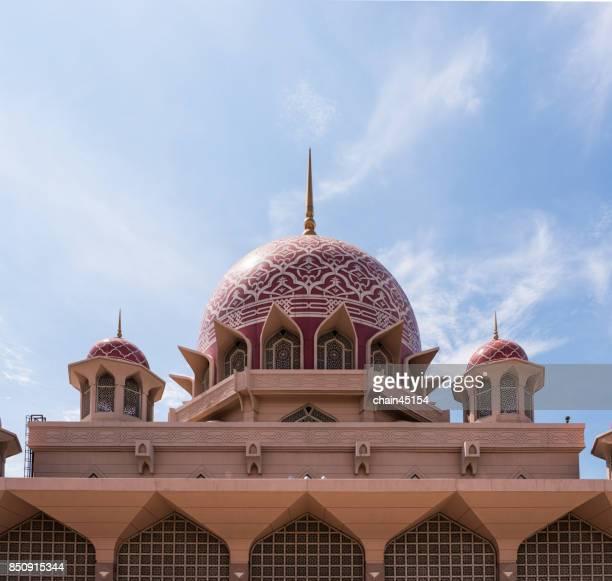 Putrajaya Mosque in Kuala Lumpur, Malaysia.