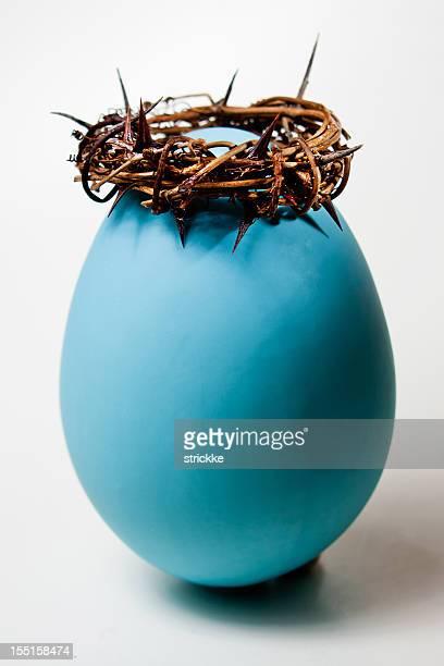 Voltar a colocar Cristo com Coroa de Thorns Easter--Egg