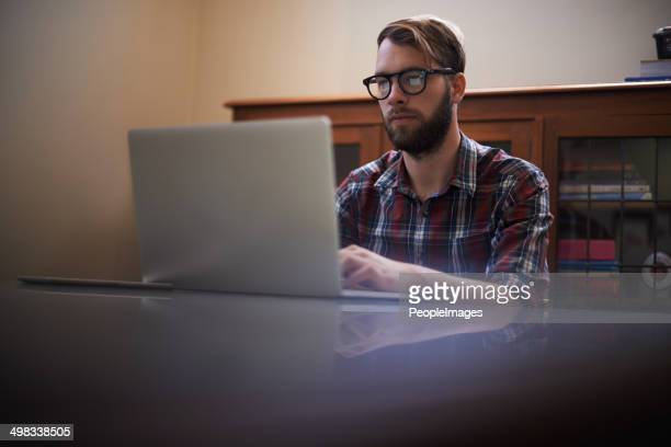 Putting in some long hours online