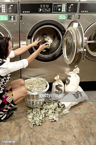 Putting Money in a Washer