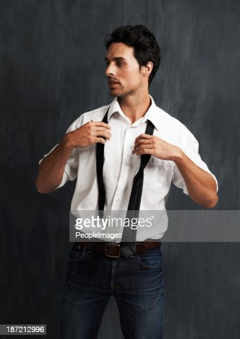 Putting on a tie