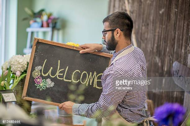 Putting Out a Welcome Sign