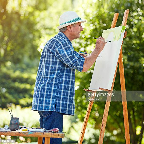 Putting passion into every painting