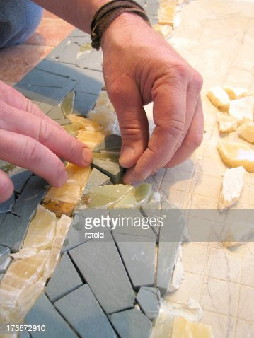 Putting together a mosaic