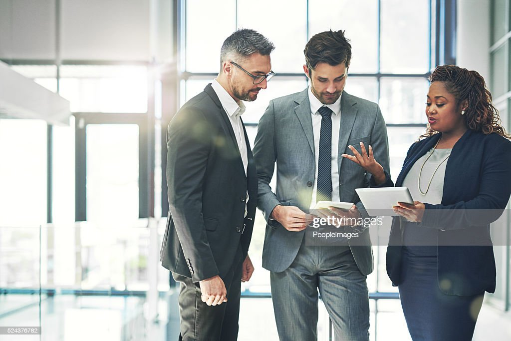 Putting together a plan : Stock Photo