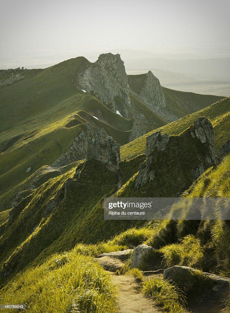 Puy de Sancy : Stock Photo