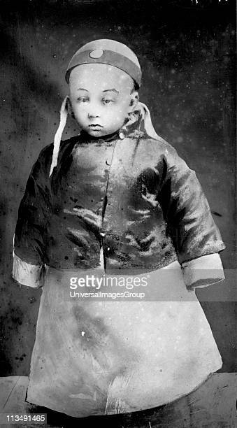 PuYi 19061967 as a small child 23 February 1909 Last Emperor of China 19081912